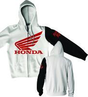 D'Cor Honda Stamp Zip Hoodie