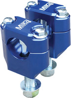 "Mika Metals Rubber Mounted Clamps BLUE 1-1/8"" - BLUE MK-BU-118"