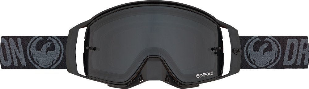 Nfx2 Black Injected Smoke Lens 10/Pk Tear Offs/Lens Shield
