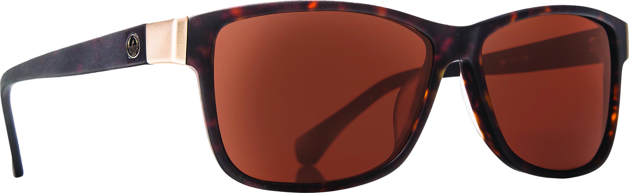 Exit Row Sunglasses Matte Tortoise W/Bronze Lens