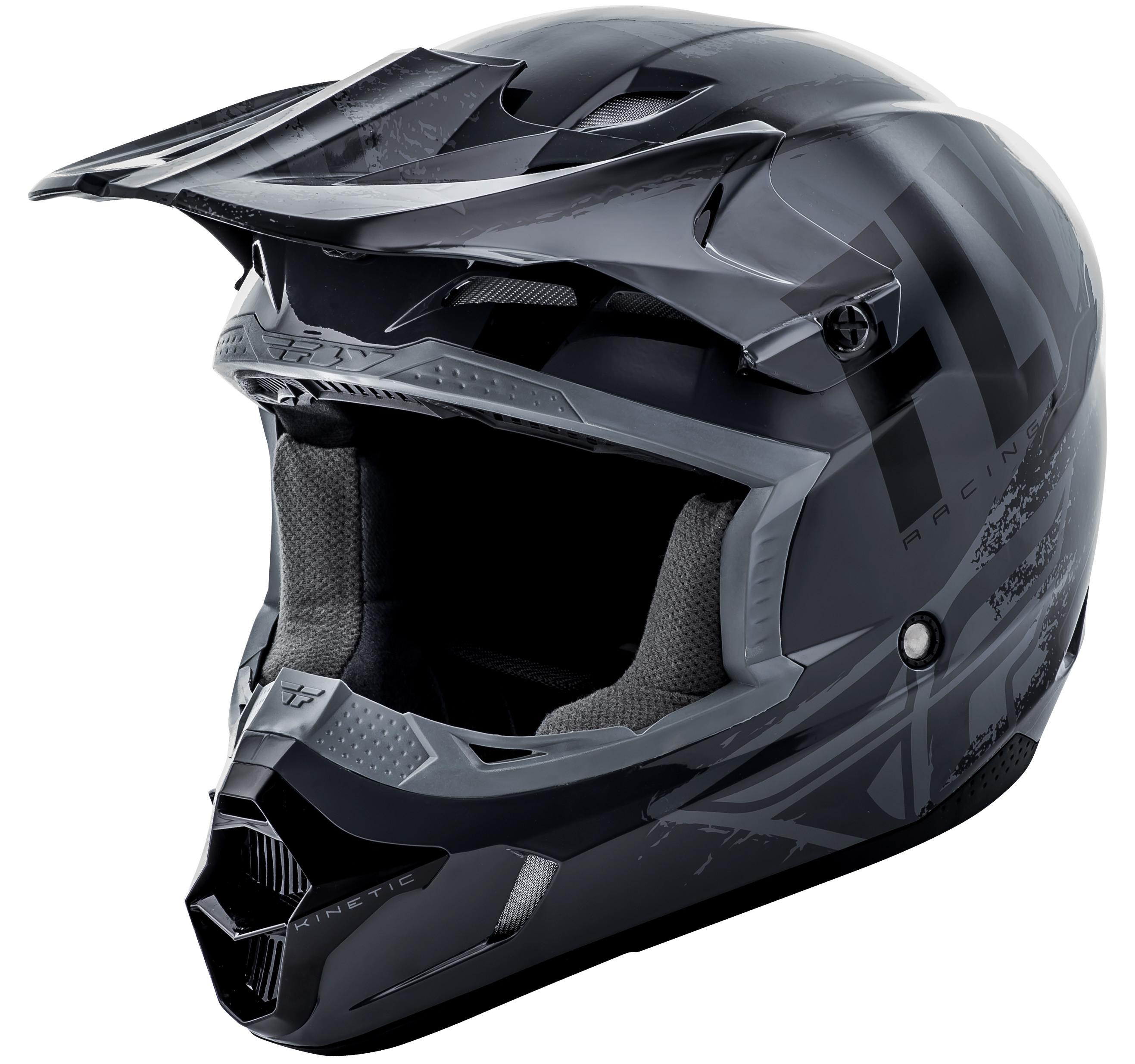 Kinetic Burnish Helmet Grey/Black 2X