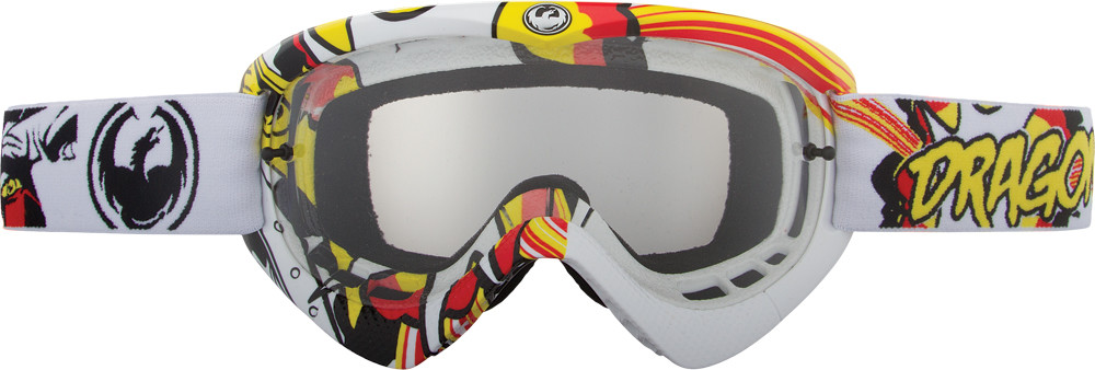 Mx Youth Goggle Crash Landing W/Clear Lens