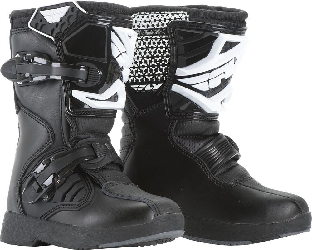 Maverik Mx Boots Black Sz 1