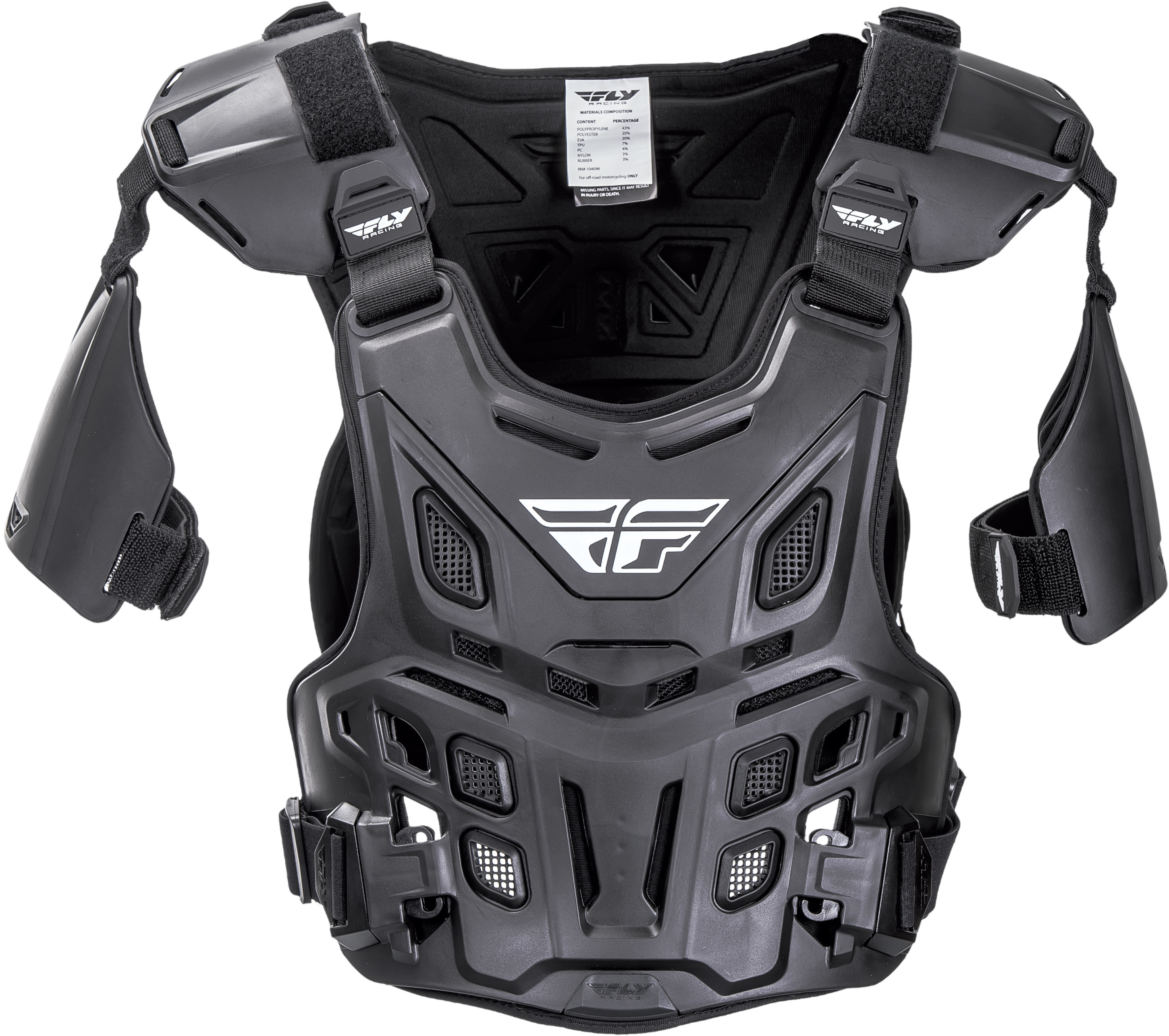 Revel Offroad Roost Guard (Black)