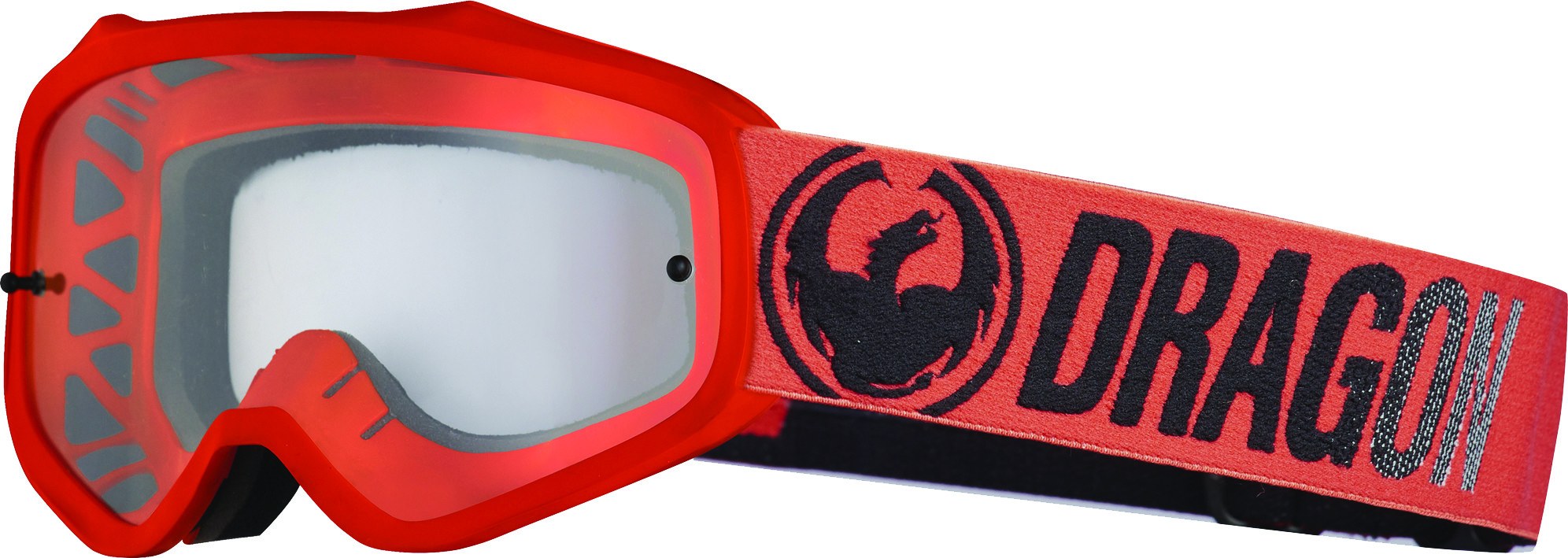 Mxv Break Goggle Red W/Clear Lens