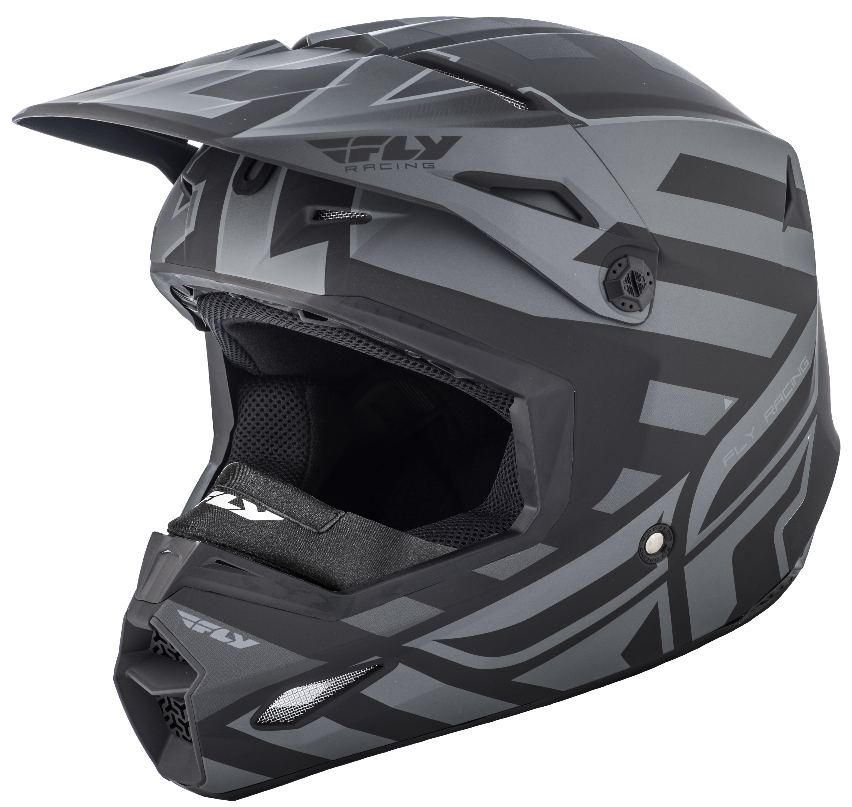 Elite Interlace Cold Weather Helmet Matte Grey/Black 2X