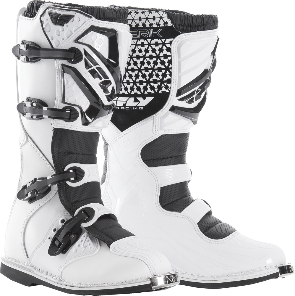 Maverik Mx Boots White Sz 10
