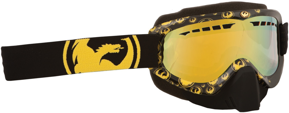 Mdx Goggle Gold Icon W/Gold Ion. Lens