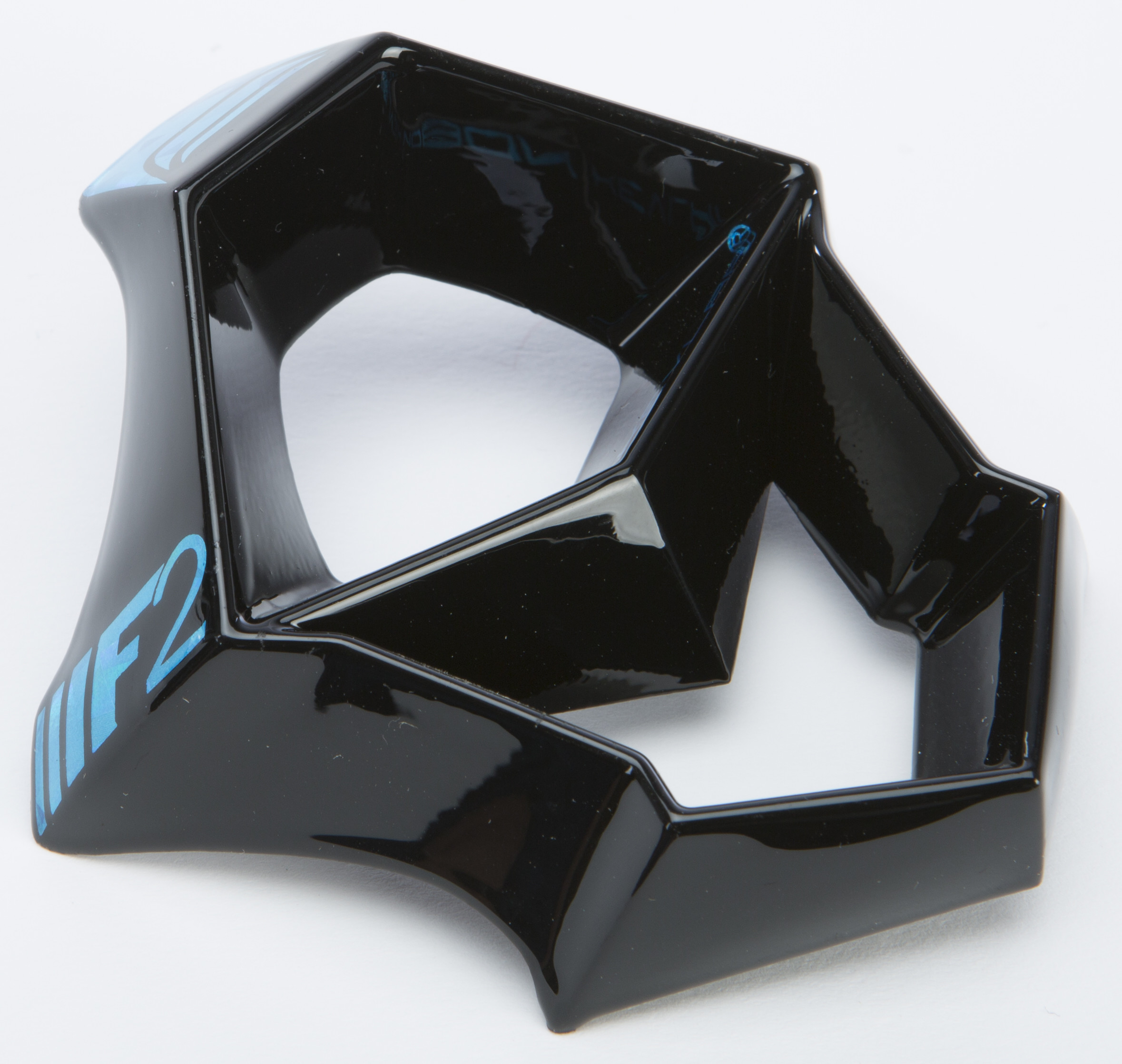 F2 Carbon Fastback Mouthpiece (Blue/Black/White)