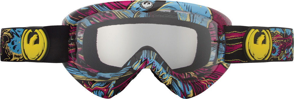 Mx Youth Goggle Migraine W/Clear Lens