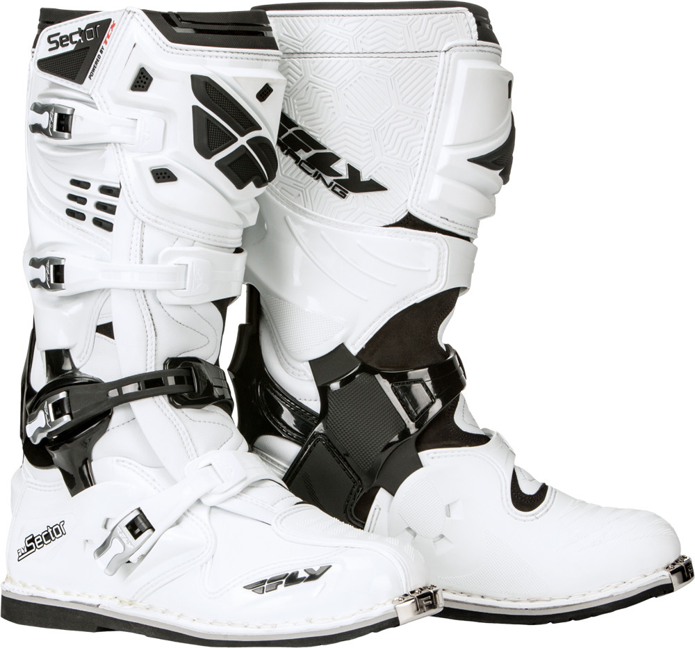 Sector Boots White Sz 8