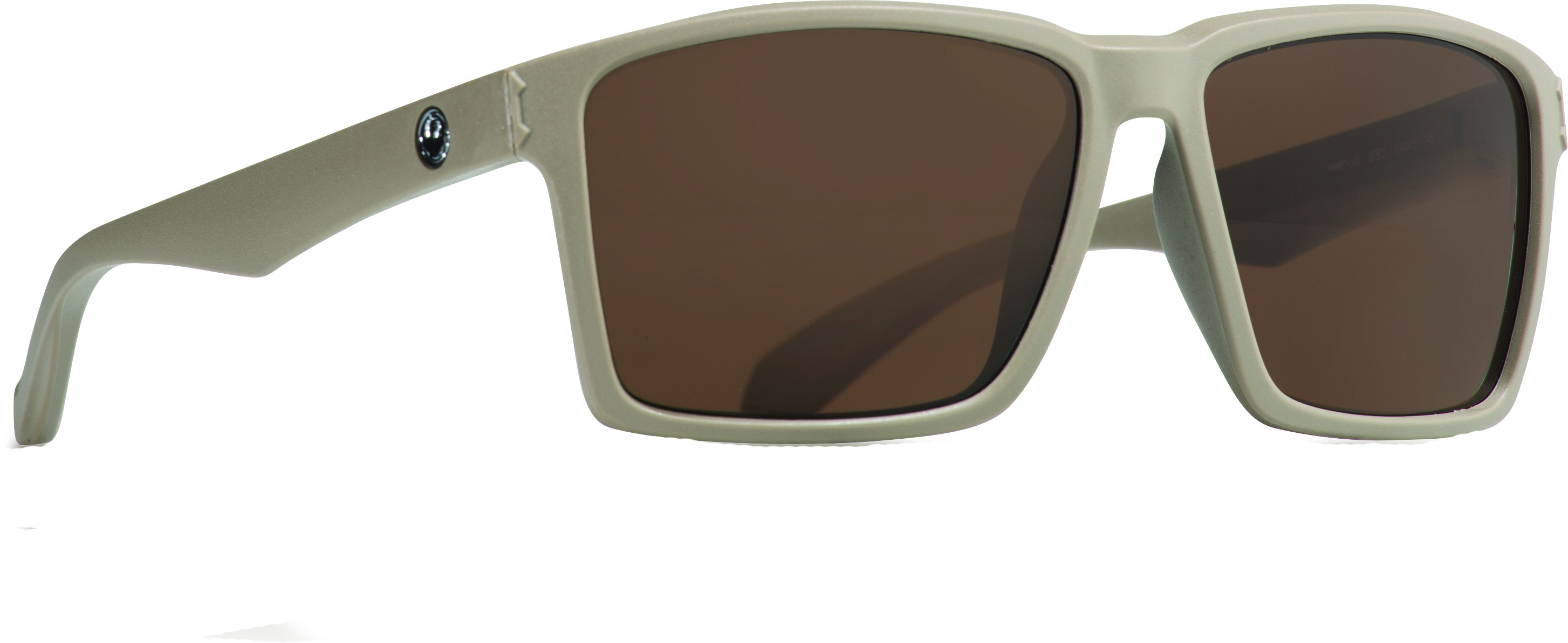 Method Sunglasses Matte Coffee W/Brown Lens