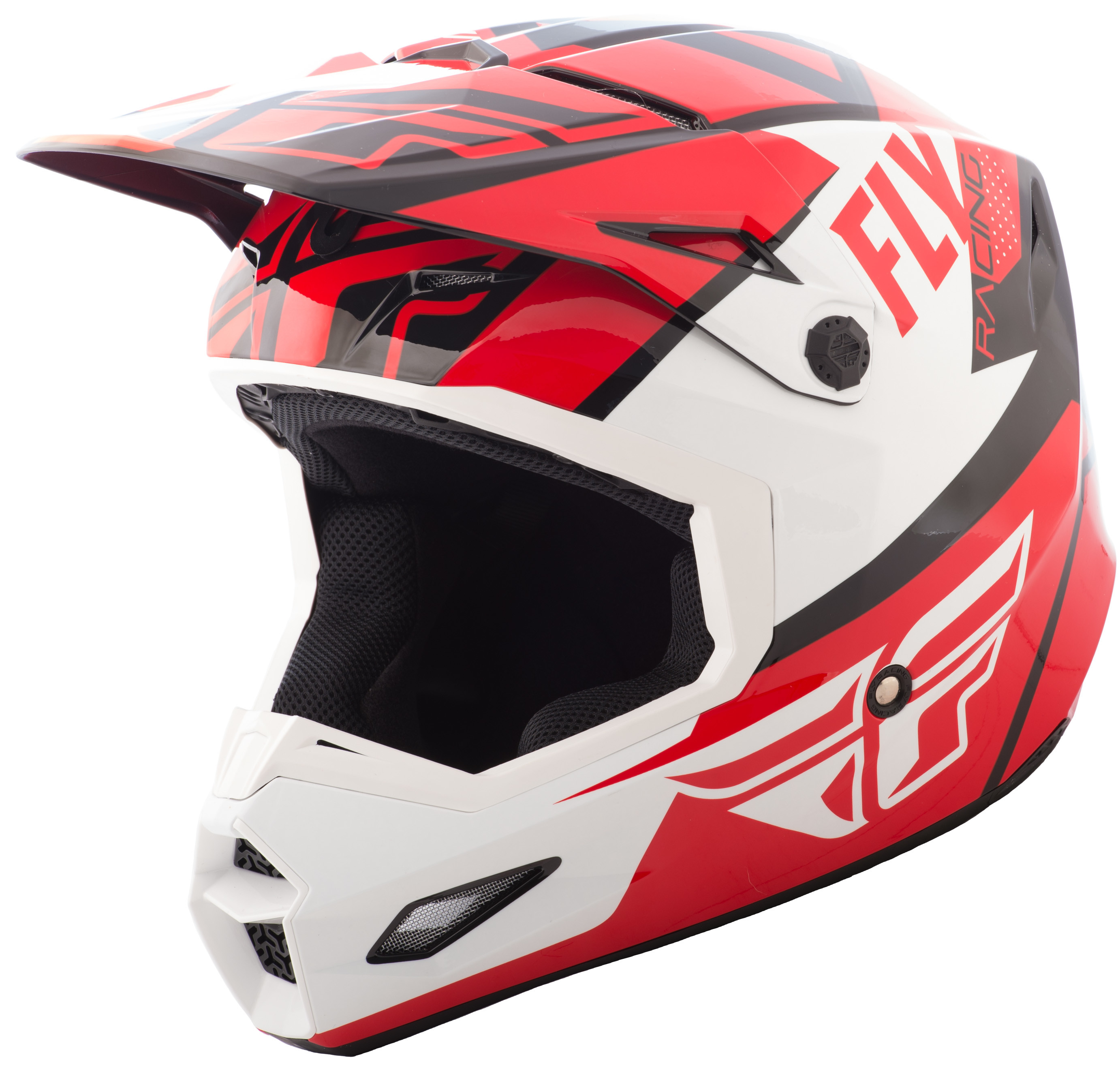 Elite Guild Helmet Red/White/Black Sm