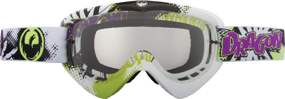 Youth Goggle Pow W/Clear Lens