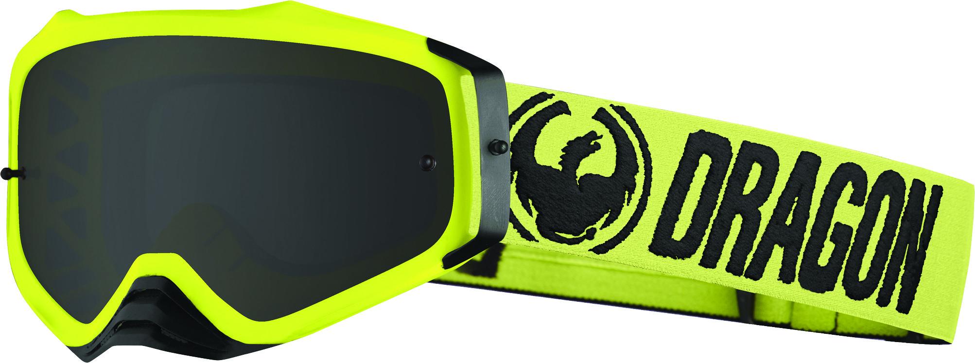 Mxv Plus Goggle Hi-Vis W/Smoke Lens