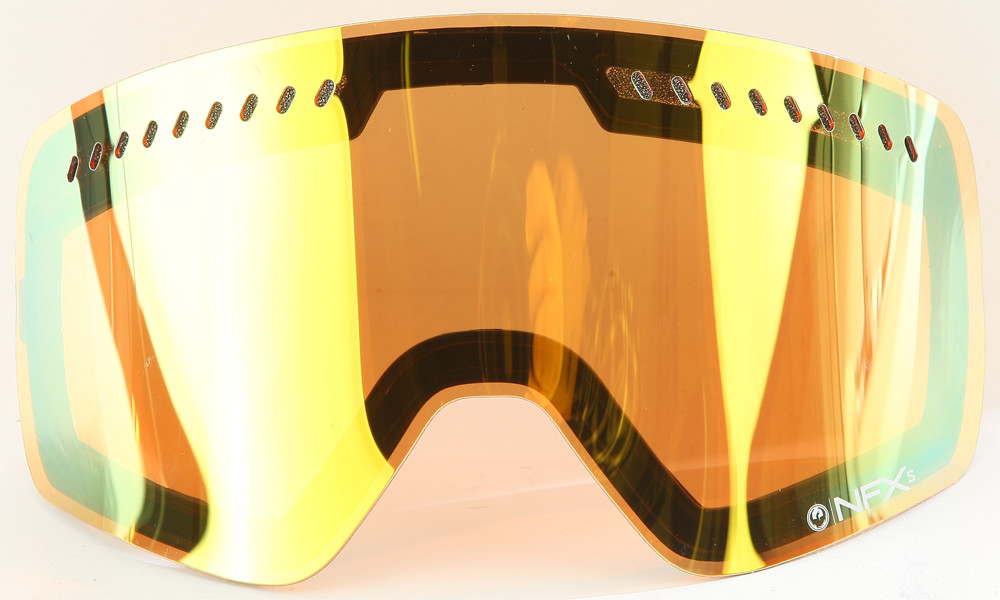 Nfxs Goggle Dual Lens (Gold Ion)