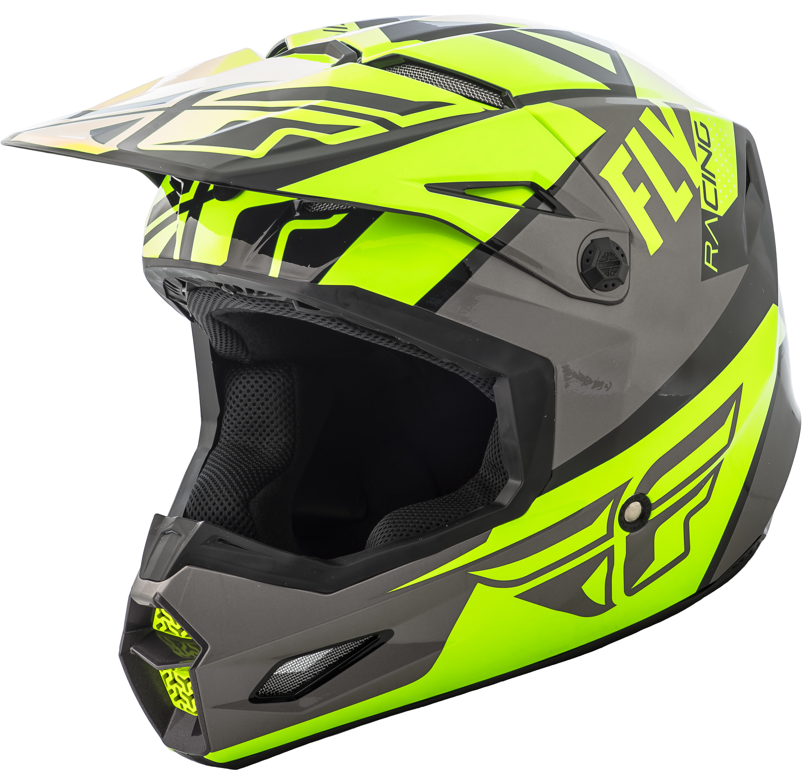 Elite Guild Helmet Hi-Vis/Grey/Black Lg