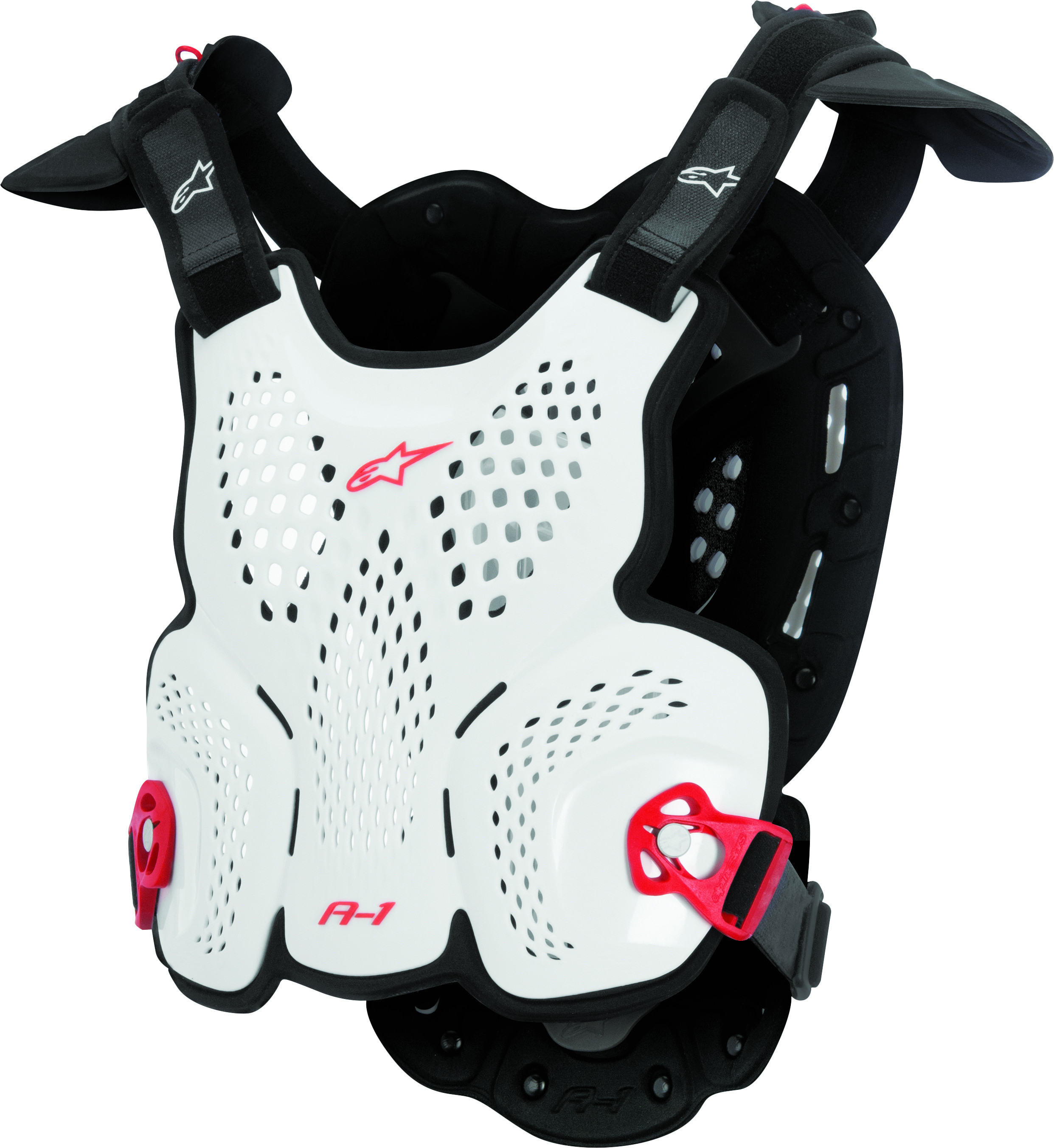 A-1 Roost Guard White/Black/Red M/L