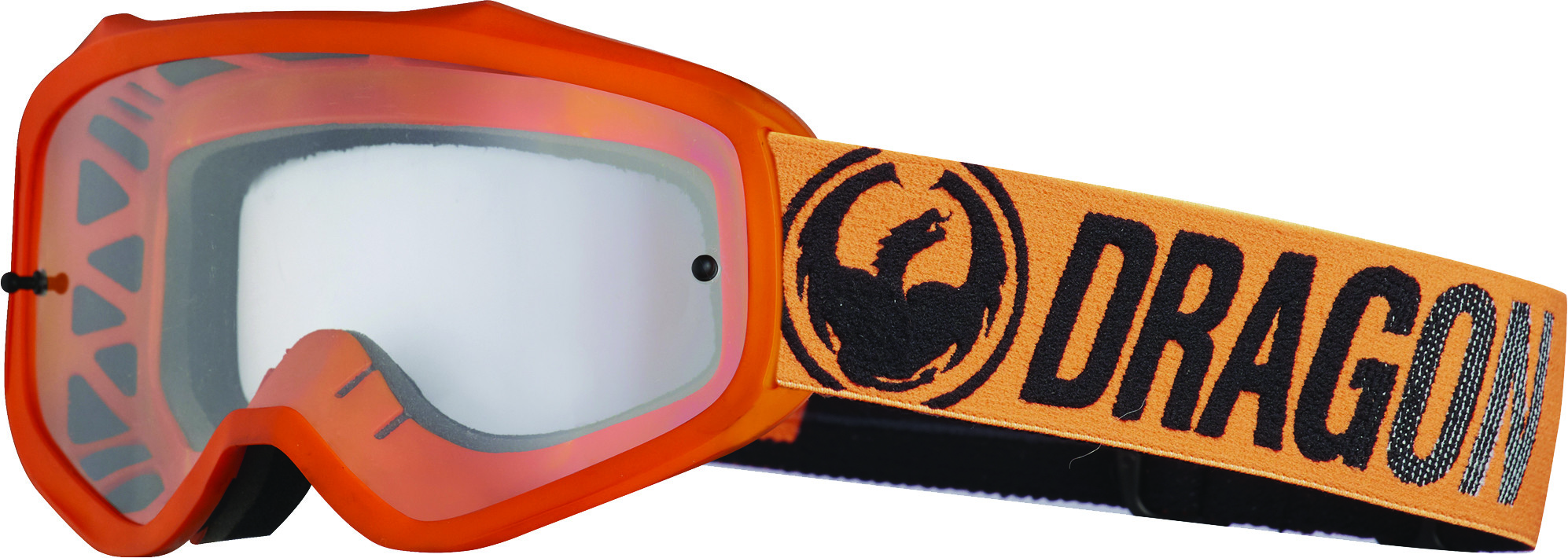 Mxv Break Goggle Orange W/Clear Lens
