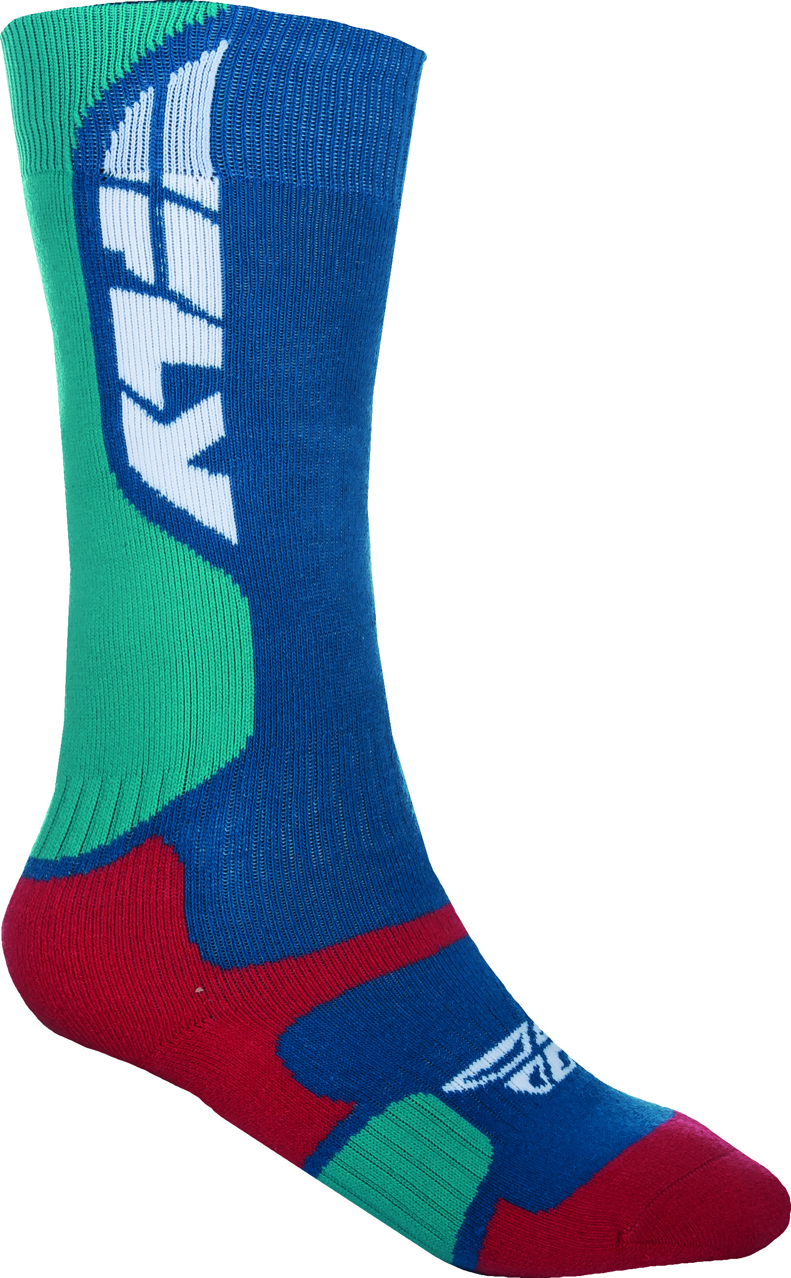 Mx Pro Sock Thick Blue/Red L/X