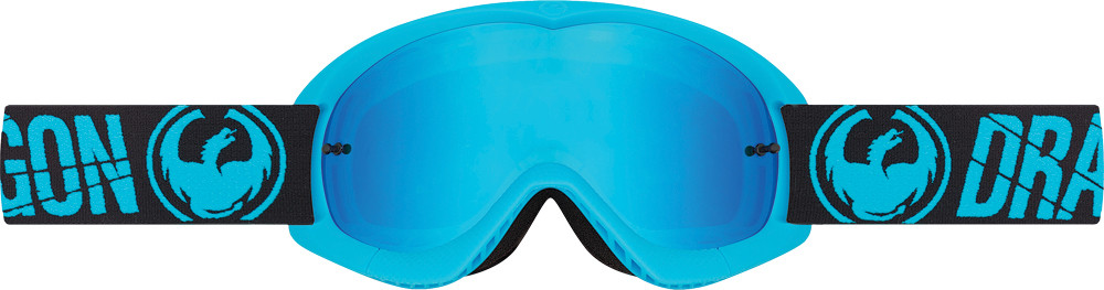Youth Mx Goggle Merge Blue W/Blue Steel Lens