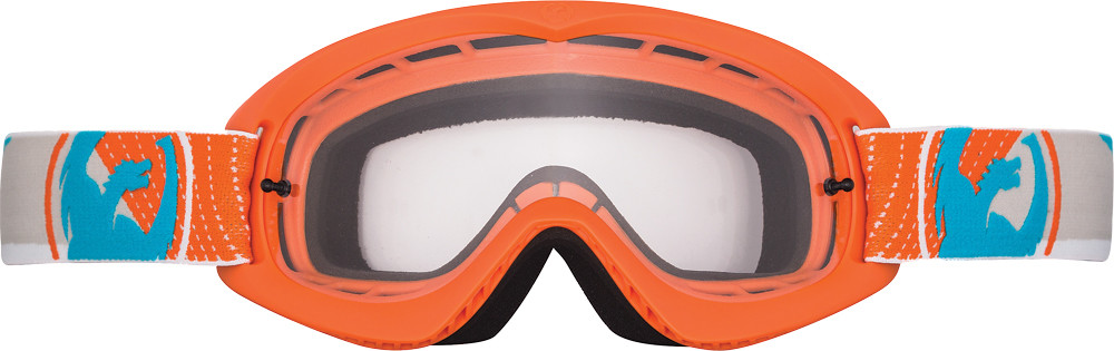 Mdx Goggle Vert W/Clear Lens