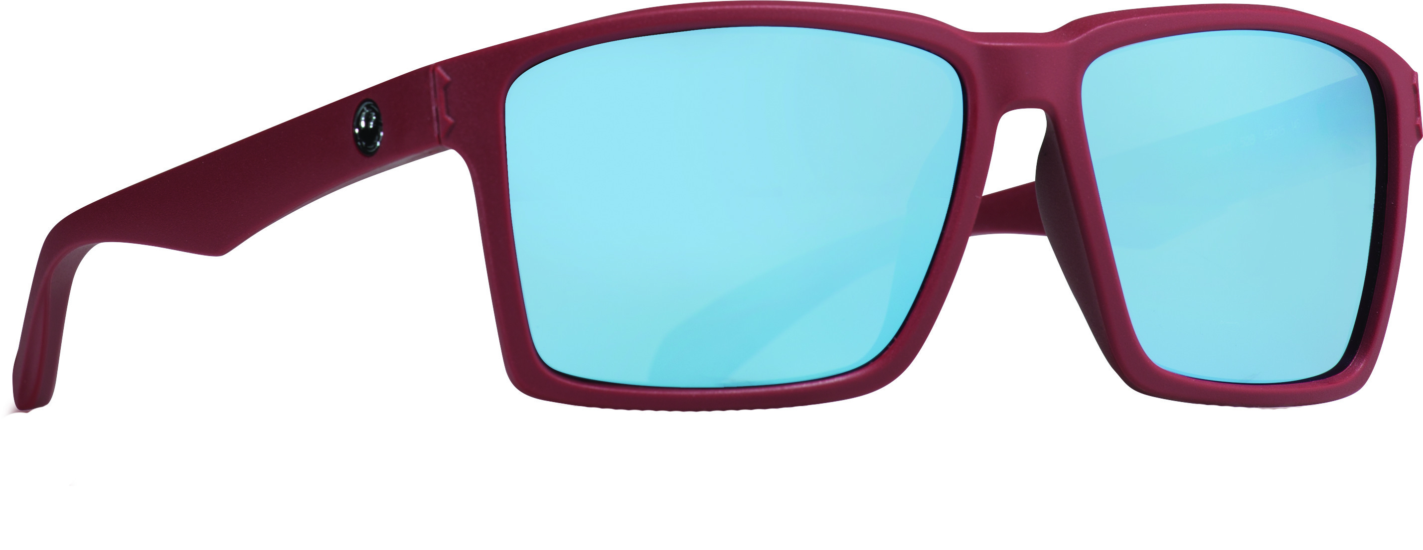 Method Sunglasses Matte Redwood W/Sky Blue Ion Lens
