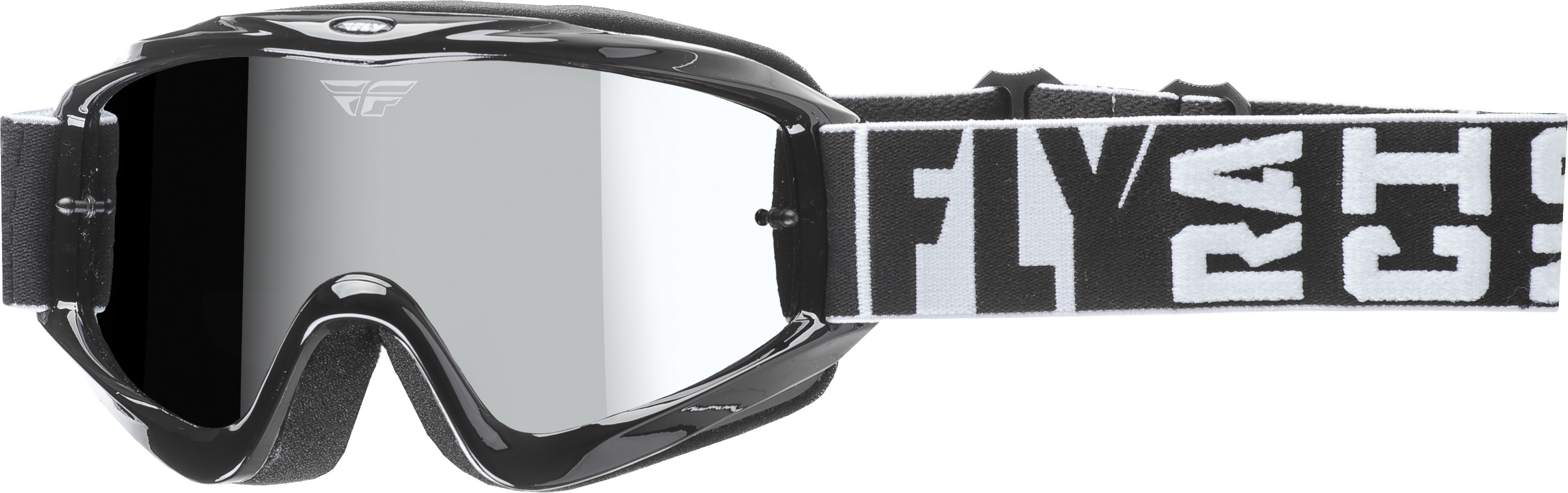 Zone Turret Goggle Black W/ Chrome/Smoke Lens