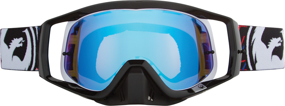 Vendetta Goggles Blue Steel W/10 Pk Tearoff