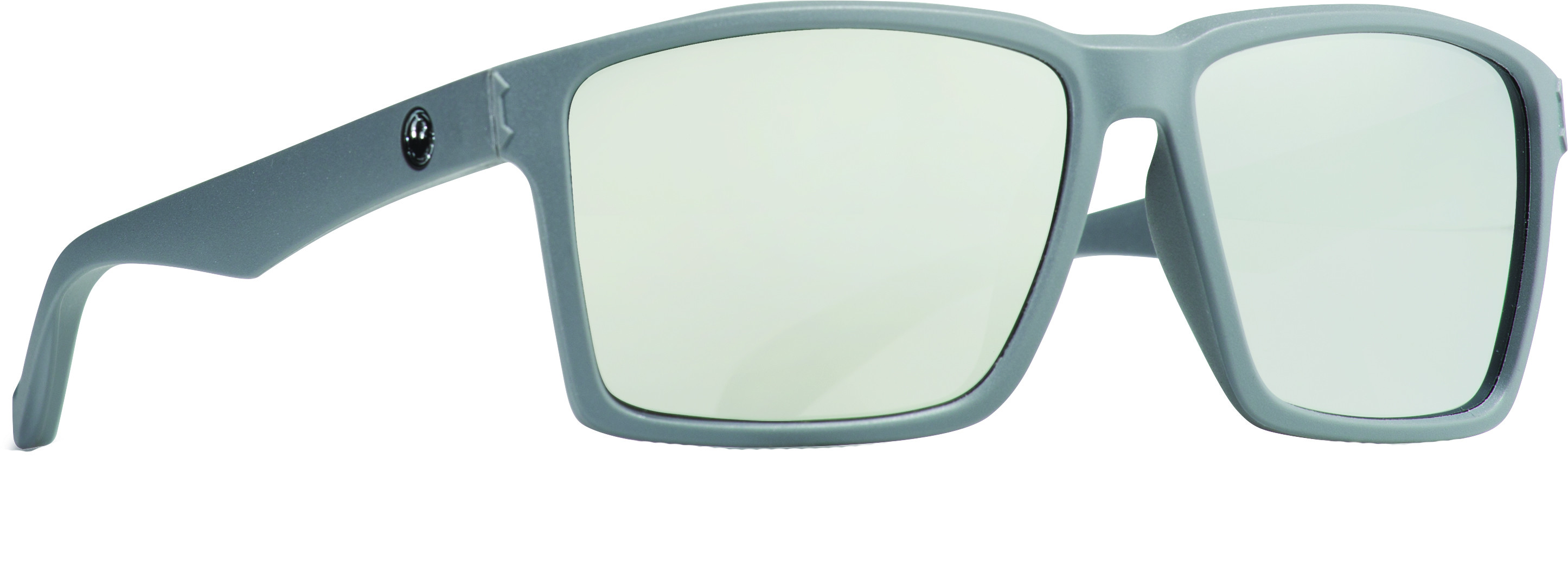 Method Sunglasses Matte Grey W/Silver Ion Lens