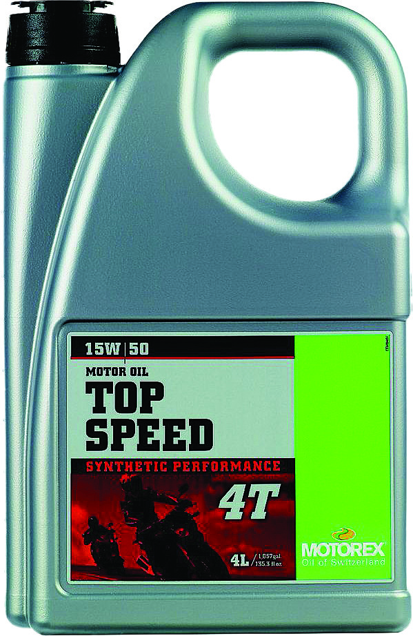 Top Speed 4T 15W50 (4 Liters)