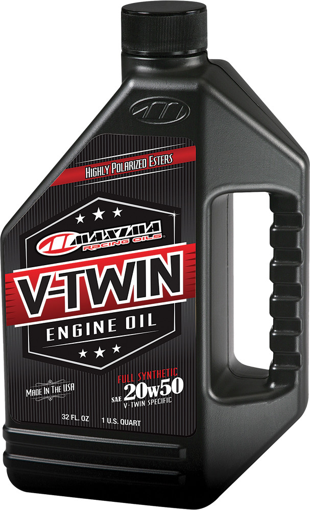 V-Twin Full Synthetic Engine Oil 20W-50 32Oz