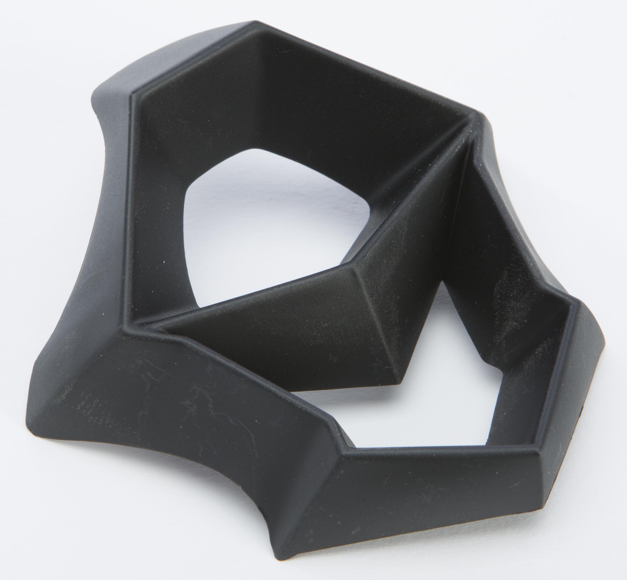 F2 Carbon Mips Helmet Mouthpiece (Wht/Black/Hi-Vis)