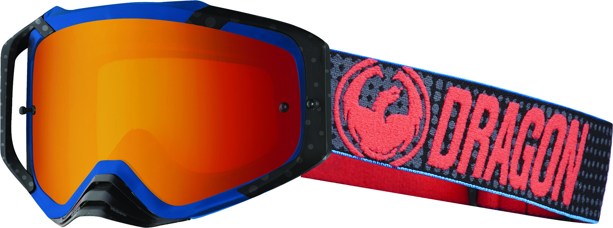 Mxv Max Goggle Nate Adams W/Luma Red Ion Lens