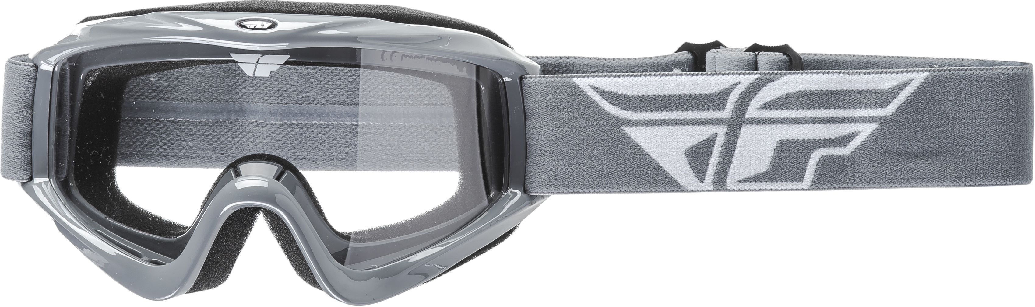 Focus Goggle Grey W/ Clear Lens