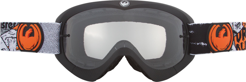 Youth Mx Goggle Spooky W/Clear Lens
