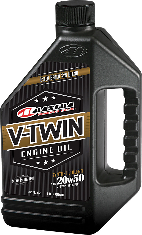 V-Twin Synthetic Blend Engine Oil 20W-50 32Oz