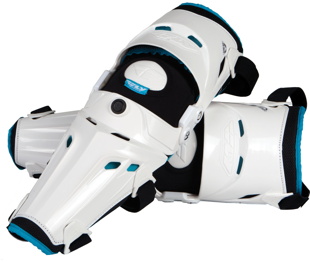 5 Pivot Knee Guards (White)
