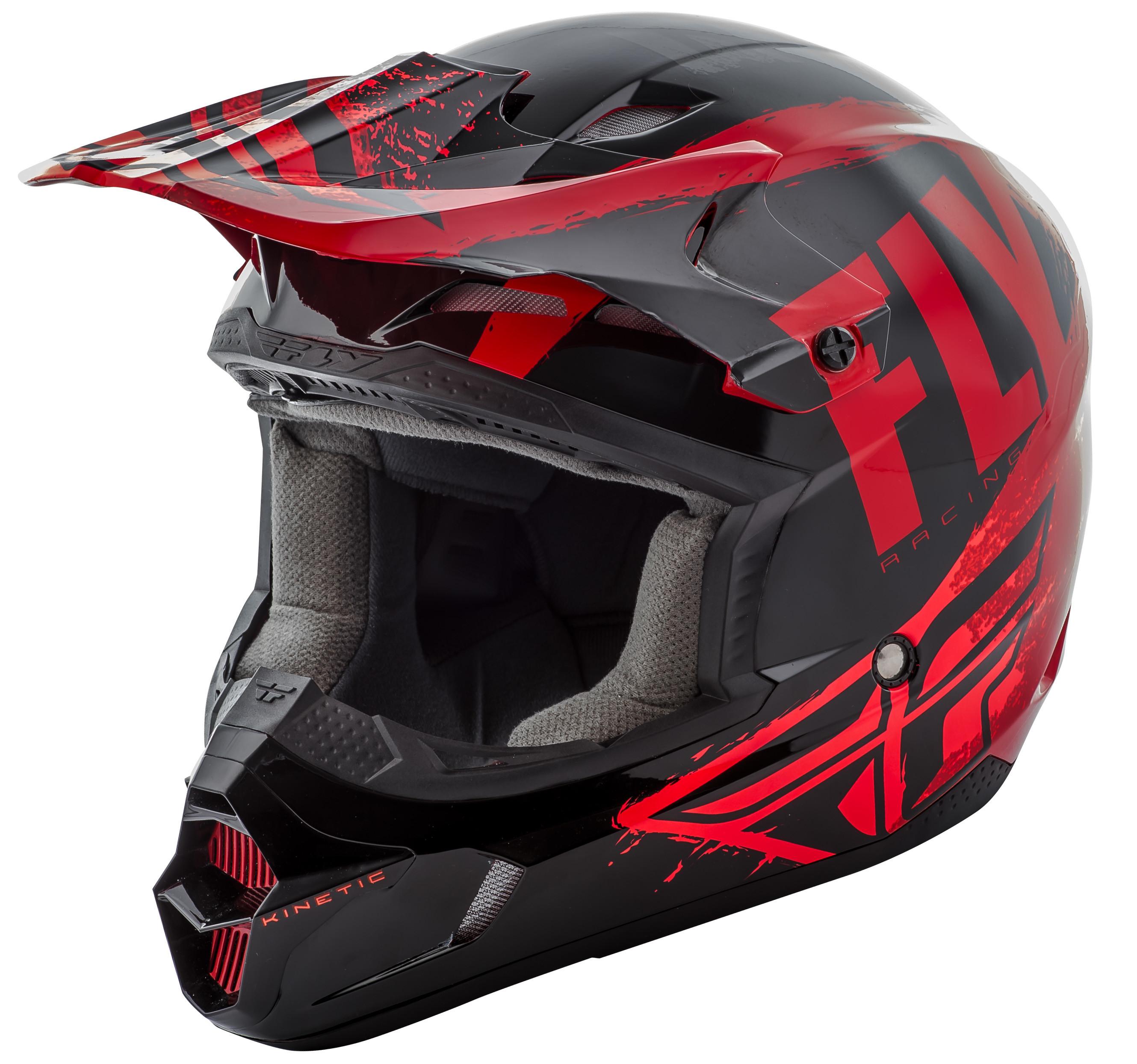 Kinetic Burnish Helmet Black/Red/Orange 2X