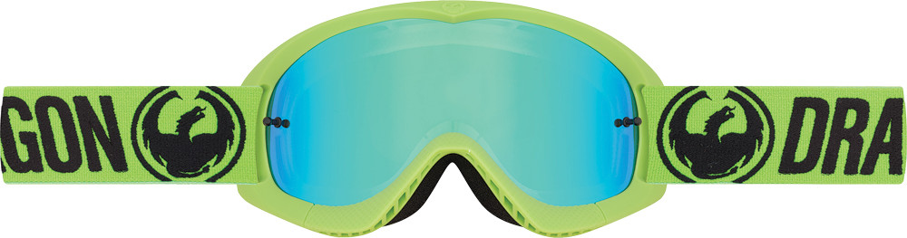 Youth Mx Goggle Break Green W/Green Ion Lens