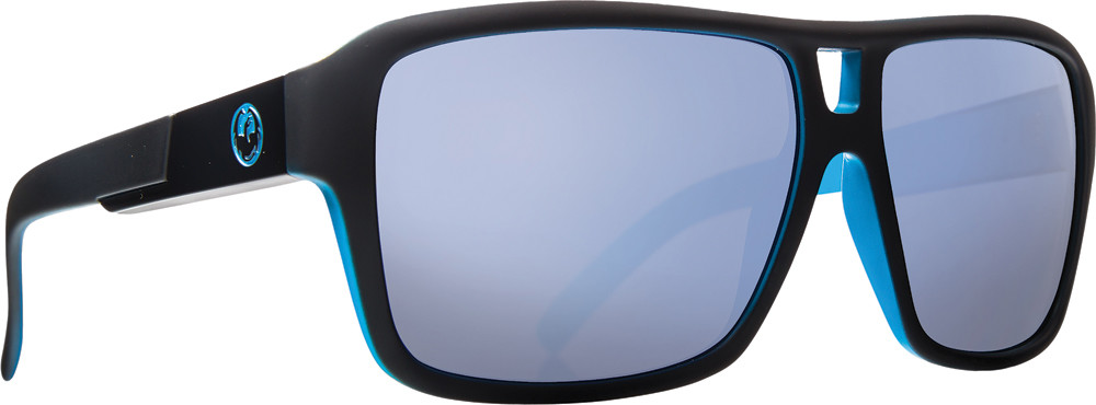 The Jam Sunglasses Matte Black W/Sky Blue Ion Lens