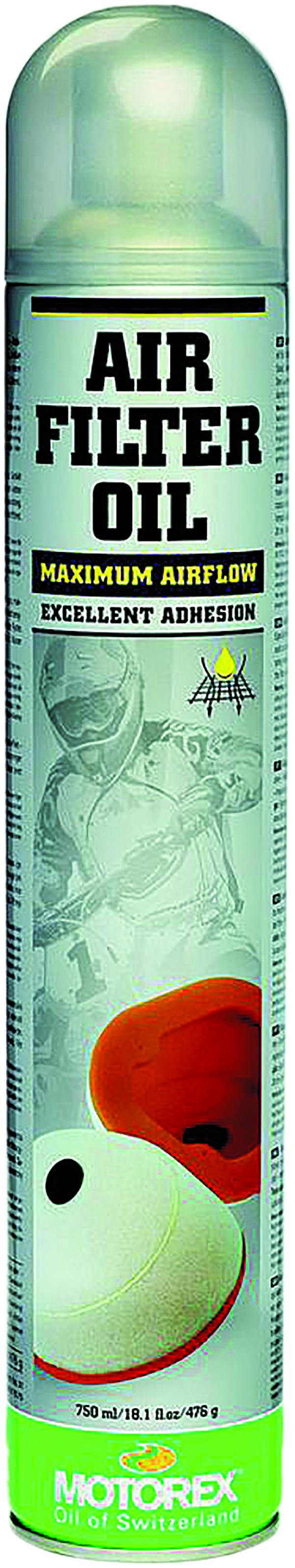 Air Filter Oil Spray 750Ml