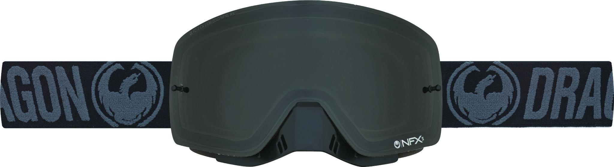 Nfxs Goggle Black W/Smoke Lens