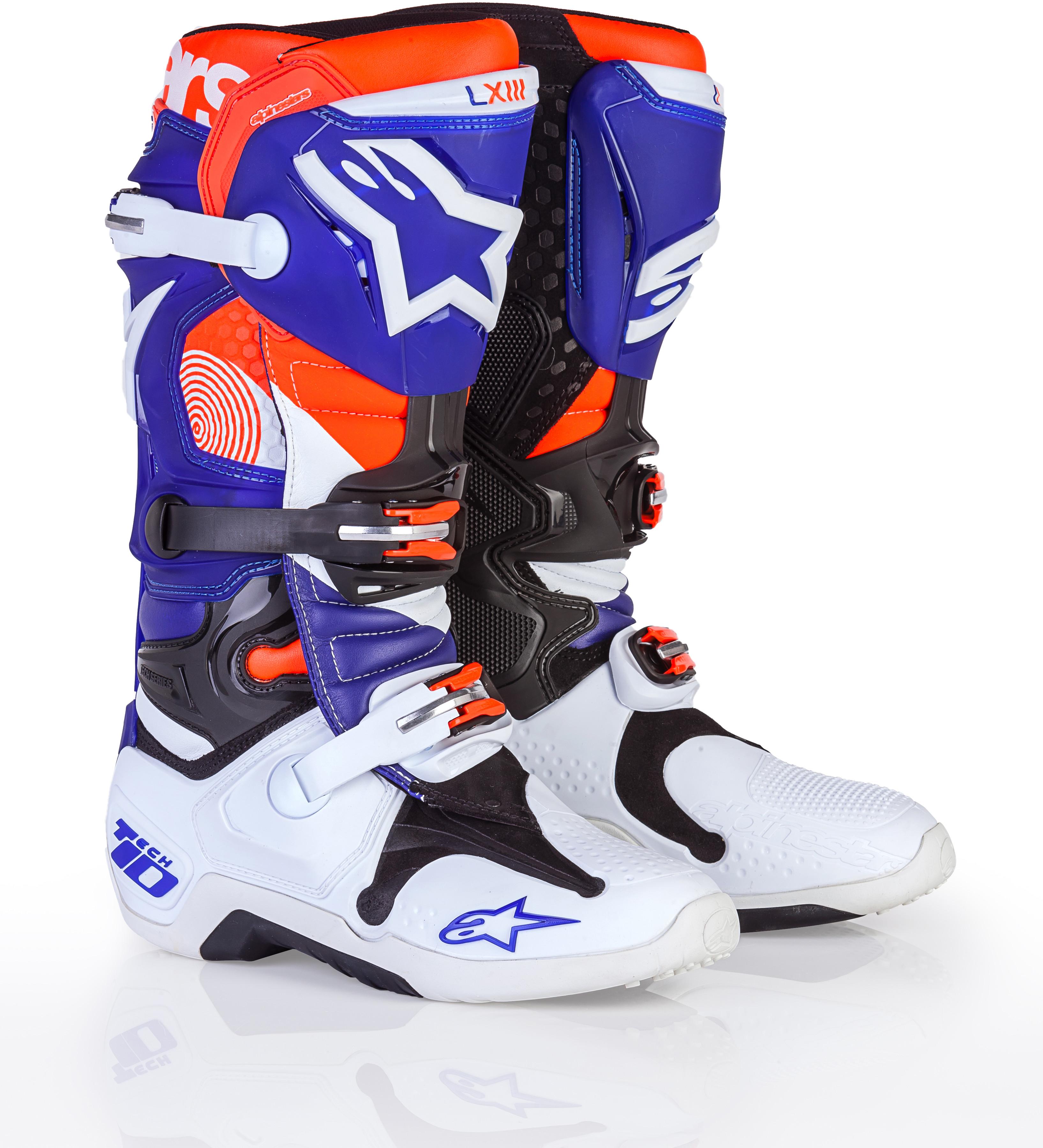 Le Spec Edition Sx Indy Tech 10 Boots Sz 10
