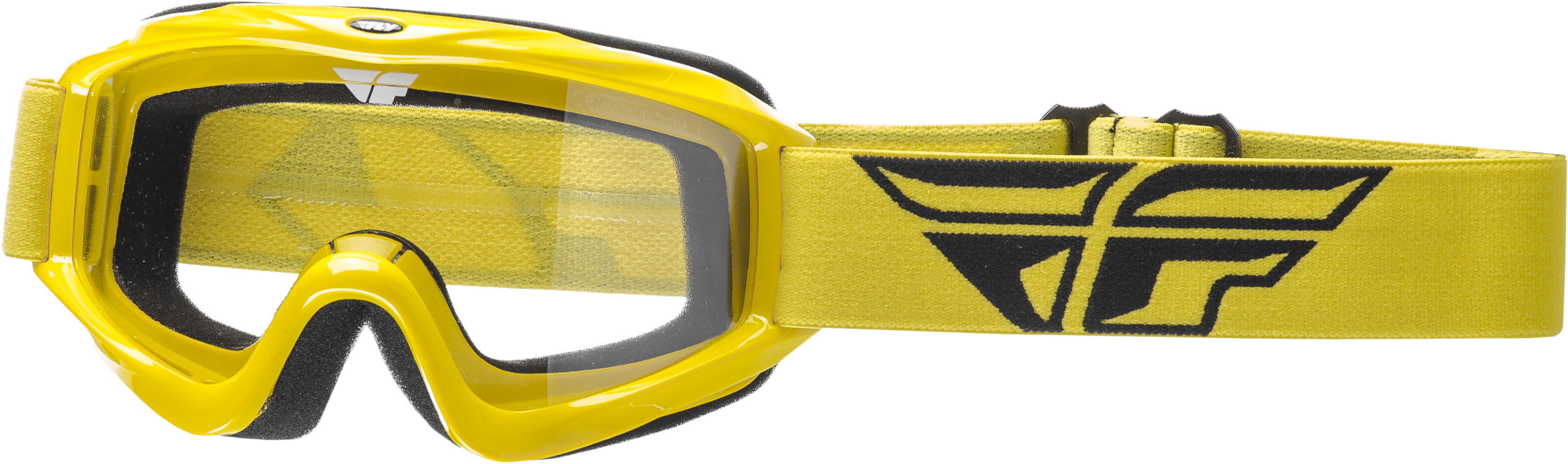 Focus Goggle Yellow W/ Clear Lens