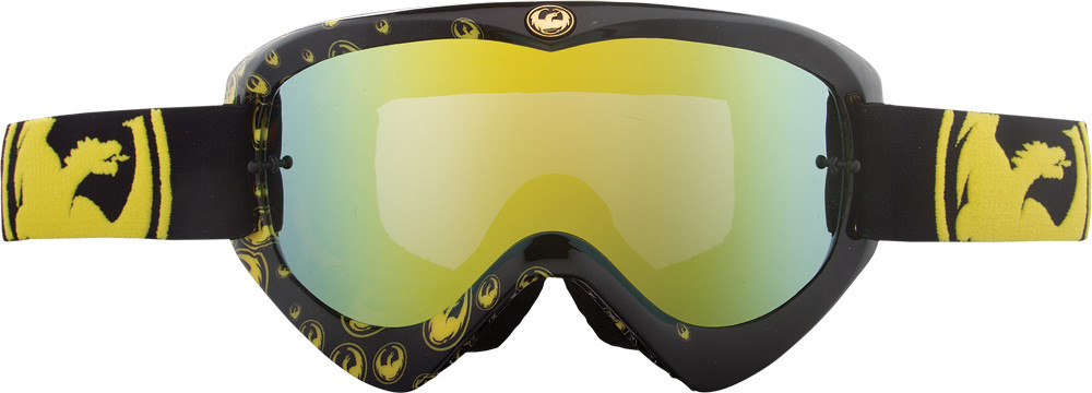 Mdx Goggle Gold Icon W/Gold Ionized Lens