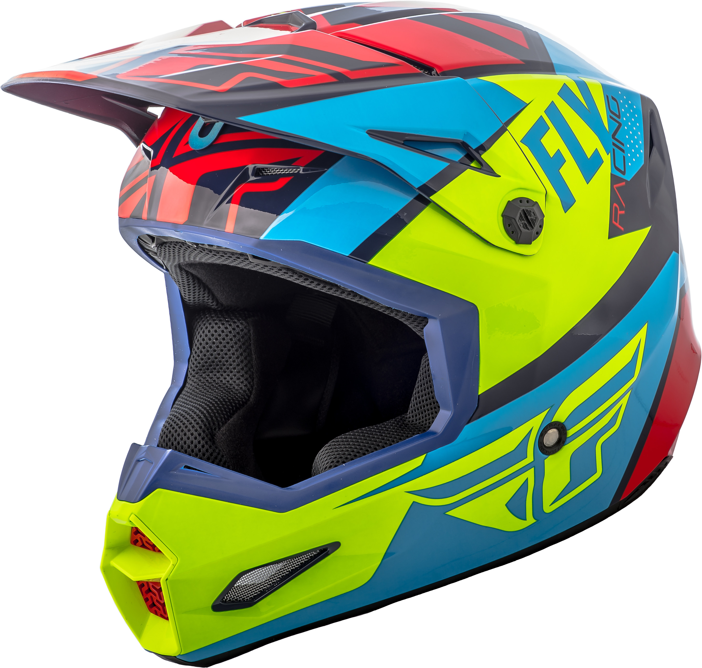 Elite Guild Helmet Red/Blue/Hi-Vis 2X
