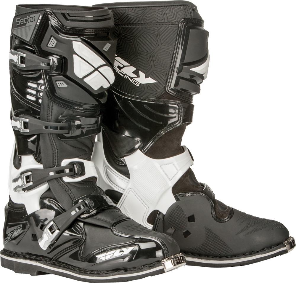 Sector Boots Black Sz 10