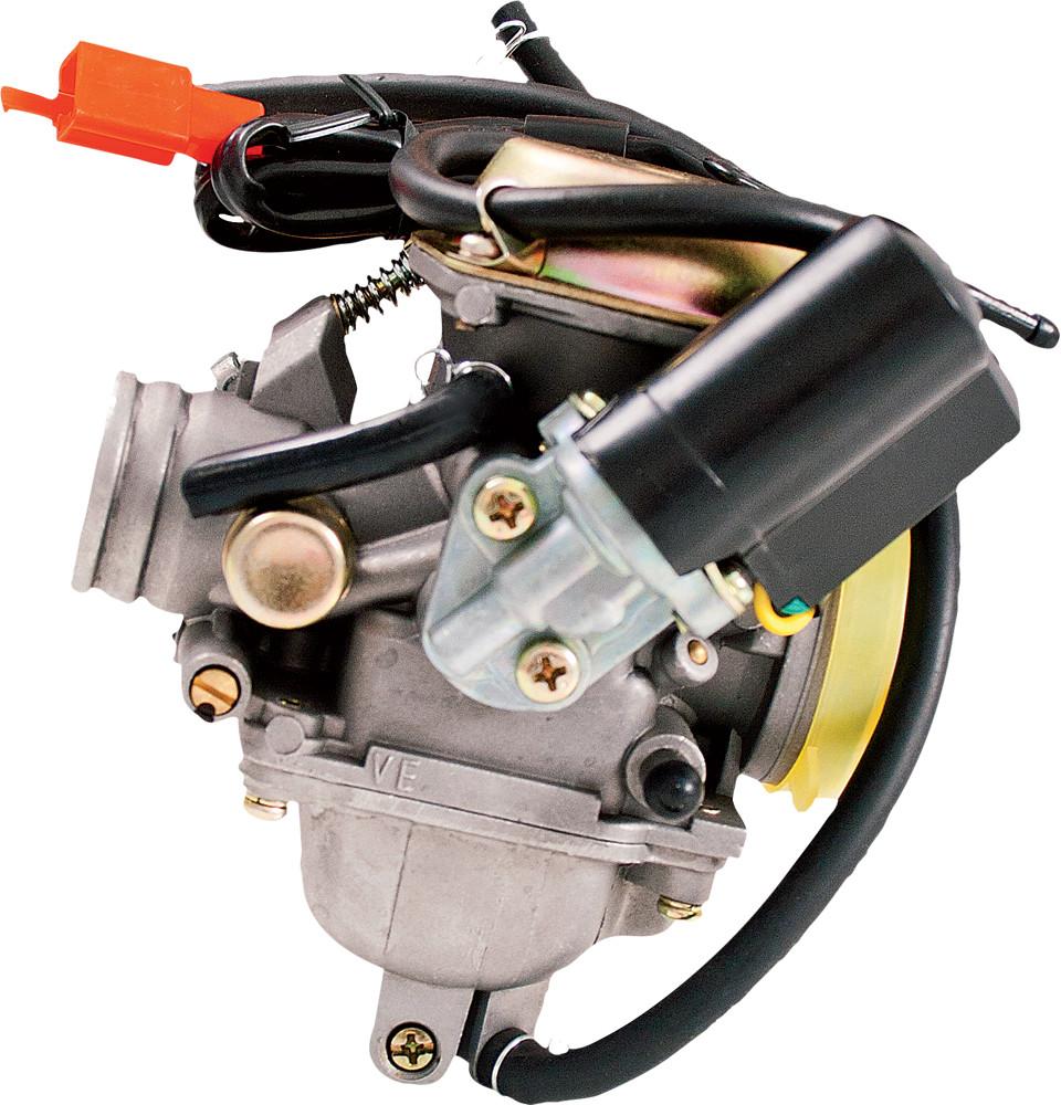 GY6 Stock 4-Stroke Carburetor 125/150cc W/Electric Choke
