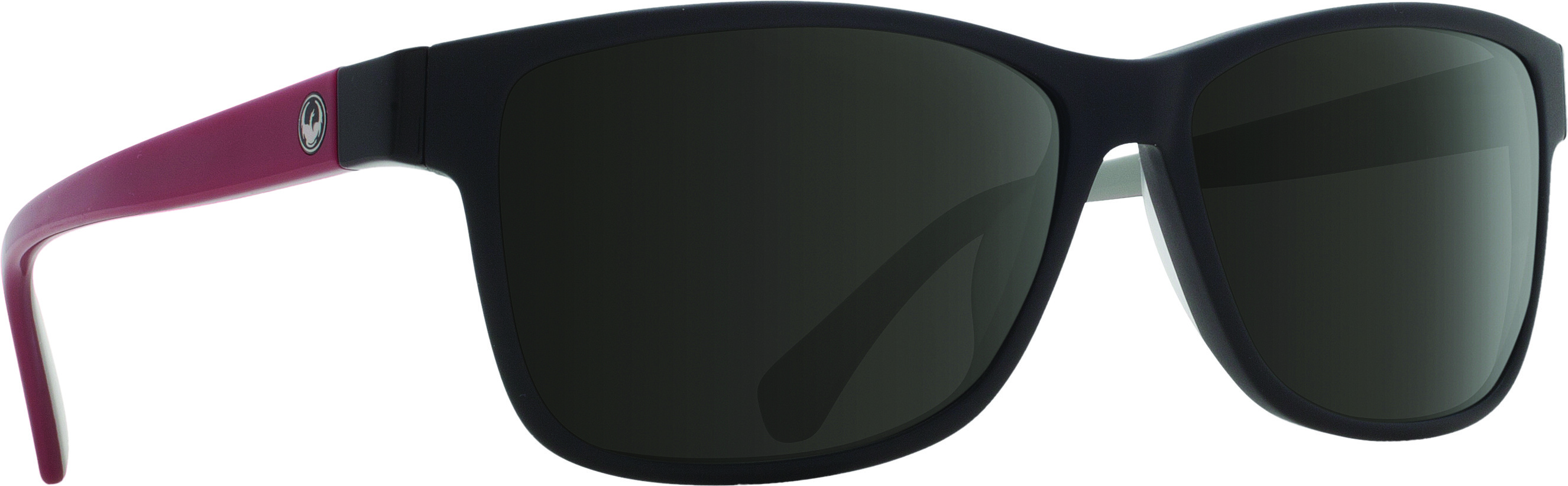 Exit Row Sunglasses Matte Black W/Grey Lens